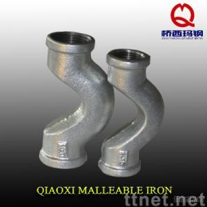 Malleable Iron Pipe Fitting, cross over