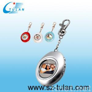 1.1in keychain  digital picture frame