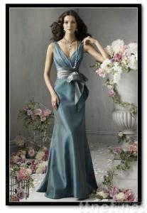 wedding dress,bridesmaid dress(HS-056)
