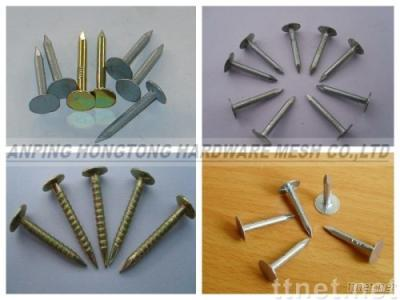 flat head roofing nails