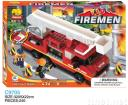 building bricks fireman set