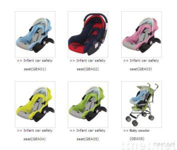 Infant Child Restraint Safety System: Infant Car Safety Seat