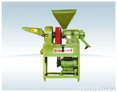 Rice Miller and Powder Crusher Combined