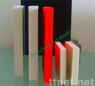 hard surface PVC sheet