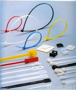 Releasable Cable Tie with -35 to 85 Degrees Celsius Operating Temperature, Made of Nylon 66