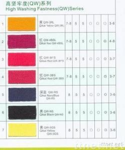 High Washing Fastness Series Disperse Dyes(QW Series)