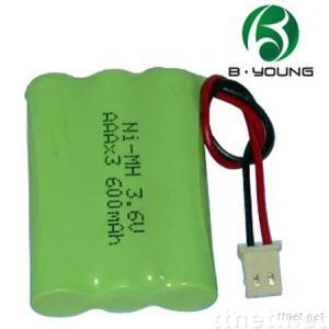 Ni-MH AAA rechargeable battery pack
