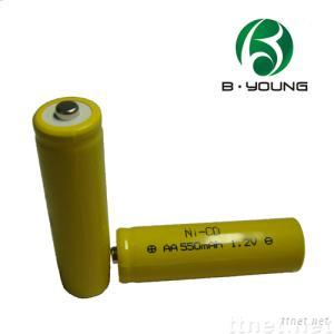 Ni-Cd AA rechargeable battery