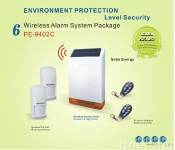Wireless Solar Sound And Light Siren Package