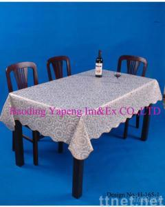 plastic tablecloth/tablecover