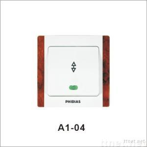 one gang two way wall switch(A1-o4)