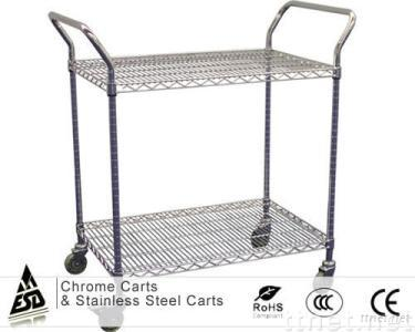 Chrome Carts & Stainless Steel Carts