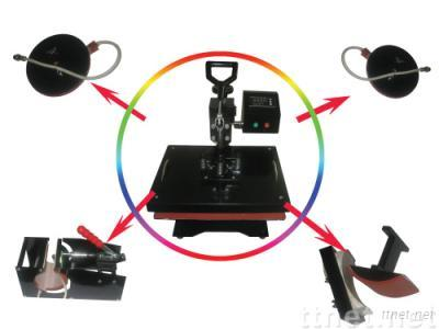 CE Approved Combo Heat Press Machine (5 in 1)