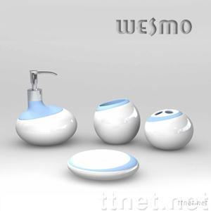 Ceramic/Porcelain Bathroom Set