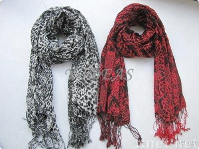 Viscose Animal Scarf