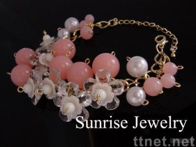 Fine jewelry with good pearl beads
