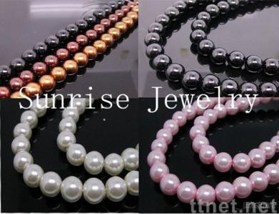 Clothing ABS pearl earring