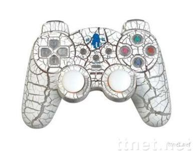 wireless gamecontroller with dual shock
