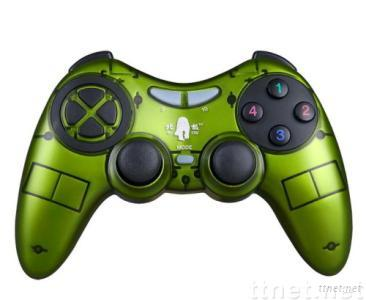 ABS material game controller/game accessories with dual shock