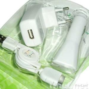 3 IN 1 Charger Kit for iPod iPhone