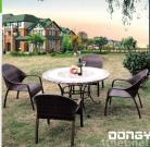 Patio Furniture with 4 Chairs