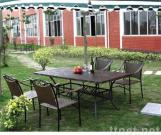 Patio Furniture Set with 4 Chairs