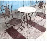 Patio Furniture Set with Couple Chairs