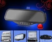 Car Bluetooth Rearview Mirror