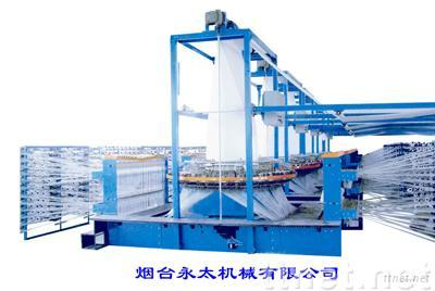Six-shuttle circular loom