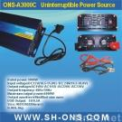 Power inverter with charger