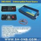 DC to AC home power inverter with charger