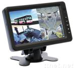 7.0 Inches Quad Monitor for Bus Surveillace