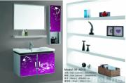 bathroom cabinet and shelf