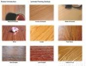 Laminated Flooring Country Embossed Surface
