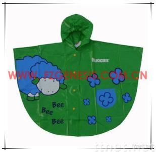 PVC Poncho Kid Clothes