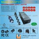 Universal laptop power adapter supply charger Auto output 100W 15-24V