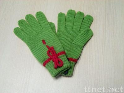 knited gloves