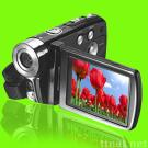 HD 720P video camcorder, support 8GB SD card external