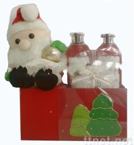 Christmas Theme Bath Set