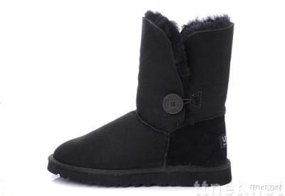 Brand New BGG Women's Bailey Button boots, 5803 style, black, size 8(Size 39)