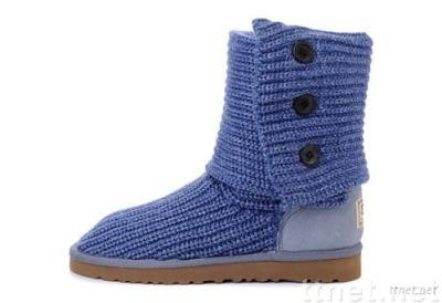 BGG Womens Classic Cardy boots, 5819 style, Blue, size 7(Size 38)