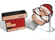 Christmas Sock USB Flash Driver for Good Gift
