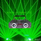 120mw double head green stage laser light