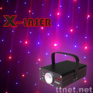 200MW red+purple firefly holiday party laser light