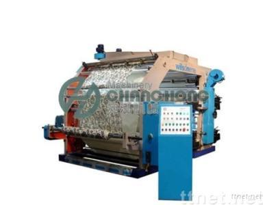 High Speed 4 Colors Non-woven Cloth Flexographic Printing Machine