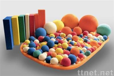 sponge rubber ball
