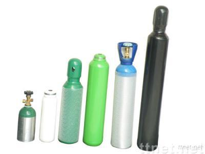 Gas Oxygen Cylinders/STELL or Aluminum
