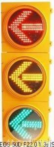 Yellow Housing LED Traffic Arrow Signal