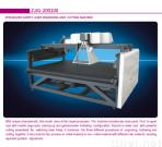 Specialized laser cutting and engraving machine for carpet