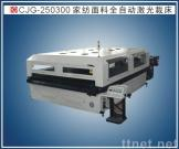 Aotomatic laser cutting machine for wide home textile
